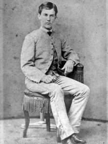 William Crawford Gorgas, c.1870. Gorgas graduated in 1875 from the University of the South at Sewanee, Tennessee, where his father, Josiah Gorgas, was headmaster. (From Encyclopedia of Alabama, Courtesy of the University of Alabama W.S. Hoole Special Collections Library)