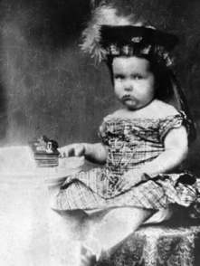 William C. Gorgas, ca. 1856, posing for a portrait. The style of dress was typical for the time. Children, until five or six years of age, often were clothed in a unisex fashion in Western societies until the early twentieth century. (From Encyclopedia of Alabama, Courtesy of the University of Alabama W.S. Hoole Special Collections Library)