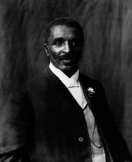 George Washington Carver at the Tuskegee Institute, 1906. (Photograph by Benjamin Frances, Library of Congress Prints and Photographs Division)