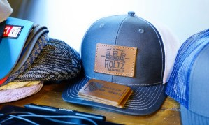 Holtz Leather in Huntsville makes a variety of products. (Mark Sandlin / Alabama NewsCenter)