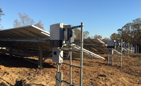 Construction on the microgrid for the Smart Neighborhood in Hoover's Ross Bridge community is 85 percent complete. (Jim Leverette)