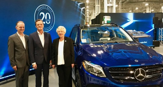 Mercedes-Benz's announcement of a $1 billion investment to begin building electric vehicles in Alabama was one of the state's big economic wins this year. (Contributed)