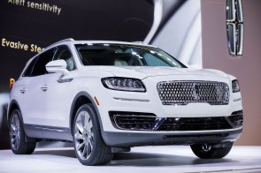 The Ford Motor Co. Lincoln Nautilus sport utility vehicle (SUV) is displayed during AutoMobility LA. (Patrick T. Fallon/Bloomberg)