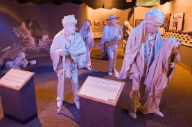 Cherokee Hills Byway - Trail of Tears Exhibit at the Cherokee National Museum. (National Archives and Records Administration)