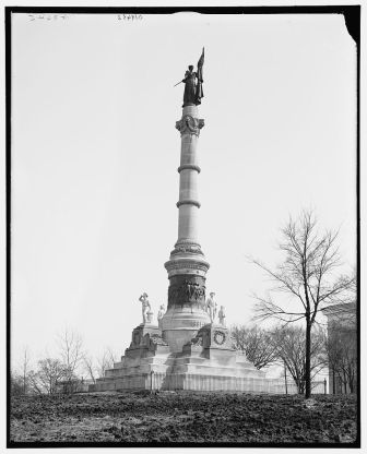 Confederate Monument, Montgomery, c. 1906. (Detroit Publishing Company, Library of Congress Prints and Photographs Division)