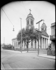 Catholic Cathedral of the Immaculate Conception, Mobile, c. 1900-1915. (Detroit Publishing Company, Library of Congress Prints and Photographs Division)