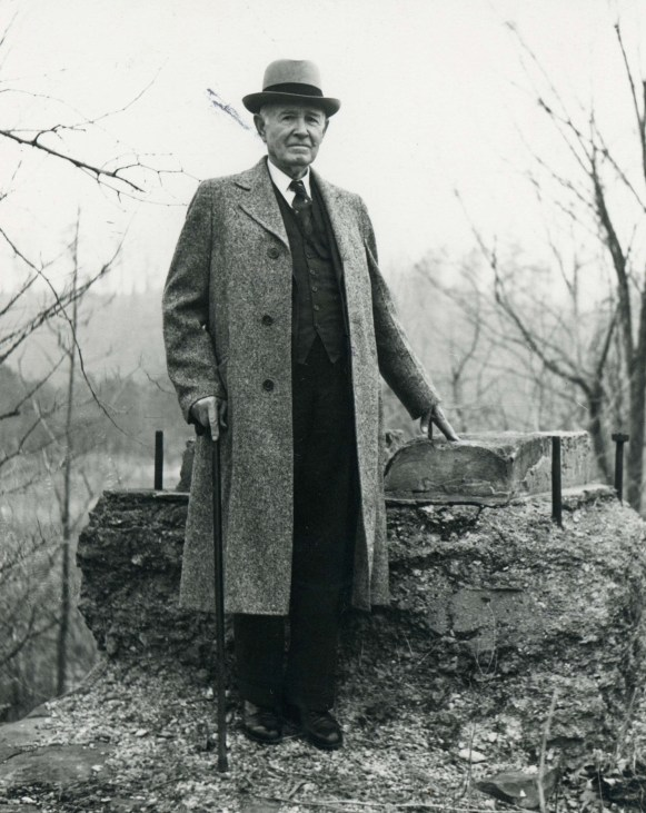 William Patrick Lay, late 1920s. (Alabama Power Company Archives)