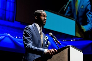 """Birmingham Mayor Randall Woodfin said """"Birmingham is in full support of the auto industry."""" (BBA)"""