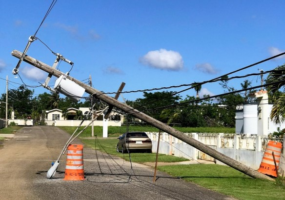 Thousands remain without power in Puerto Rico three months after Hurricane Maria. Alabama Power experts are among Southern Company employees spending the holidays on the island to help with restoration. (Contributed)