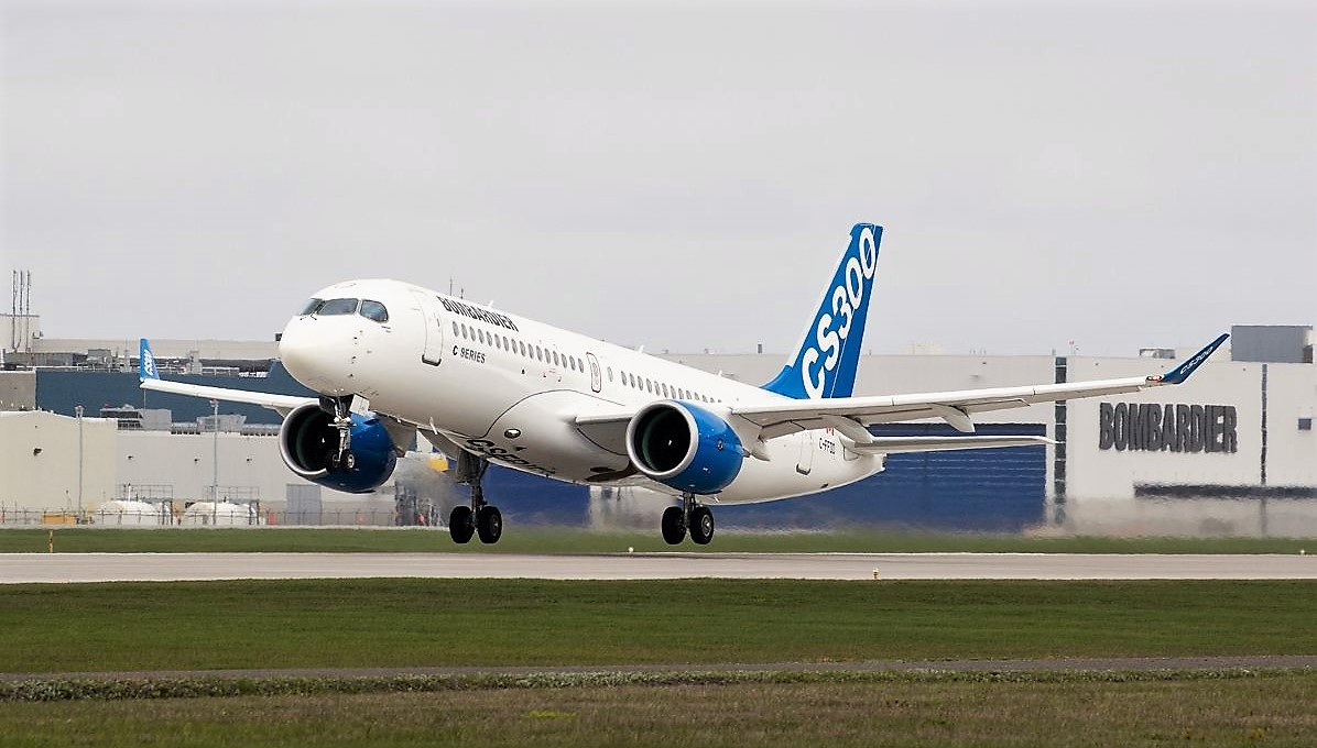 The Airbus plant in Mobile plans to add a second assembly line for the Bombardier C Series. Bombardier is based in Canada. (Bombardier)