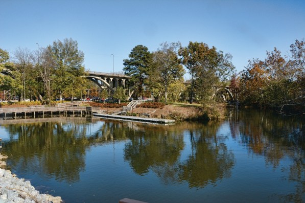 The development of Coosa Landing is the first part of Gadsden's big push to make the most of its riverfront. (Karim Shamsi-Basha / Shorelines)
