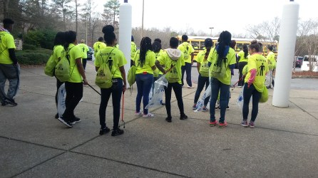Hands on Birmingham will clean up Minor Parkway Monday, Jan. 15. (Contributed)