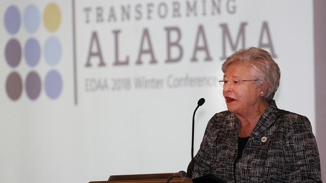 Gov. Kay Ivey celebrates Alabama economic development successes, job growth and Trump shoutout