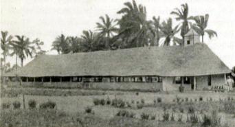 "The Lapsley Memorial Church in Inbaje, of the Congo-Balolo Mission, c. 1917. (""Presbyterian Pioneers in Congo,"" Wikipedia)"