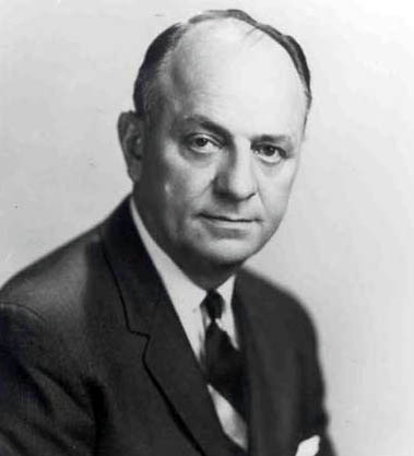 Luther Terry (1911-1985) was the U.S. surgeon general from 1961-65. He campaigned to curb cigarette smoking in America and spearheaded the use of health warning labels on tobacco products. (From Encyclopedia of Alabama, courtesy of U.S. National Library of Science)