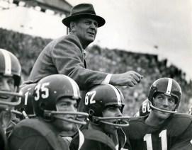 "Paul ""Bear"" Bryant served as both head football coach and athletic director for the University of Alabama. (Contributed)"
