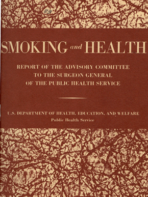Shortly after a committee in Britain issued a report on the dangers of tobacco use in 1962, Luther Terry formed the Surgeon General's Advisory Committee on Smoking and Health, which in 1964 released Smoking and Health: Report of the Advisory Committee to the Surgeon General of the United States, the first U.S. report to declare smoking a health hazard. (From Encyclopedia of Alabama)