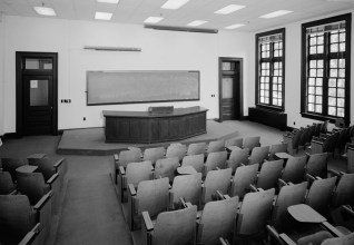 Lecture Hall at Smith Hall, University of Alabama. (HABS, Library of Congress Prints and Photographs Division)