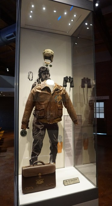 Museum display in Hangar 2. (Erin Harney/ Alabama NewsCenter)