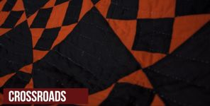 Part of Gracie M. Bell's collection of story-telling quilts. Crossroads (Chad Allen/Alabama NewsCenter)