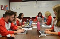 CreateAthon brought nonprofits and University of Alabama PR students together. (Alabama NewsCenter)