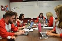 CreateAthon brought nonprofits and University of Alabama PR students together. (Alabama NewsCenter)