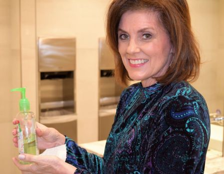 For best protection, wash hands and apply sanitizer. (Donna Cope/Alabama NewsCenter)