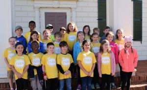 Chelsea Park Elementary students enjoyed their field trip to The American Village. (Donna Cope/Alabama NewsCenter)