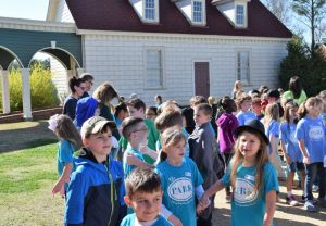 The children were excited about their field trip. (Donna Cope/Alabama NewsCenter)