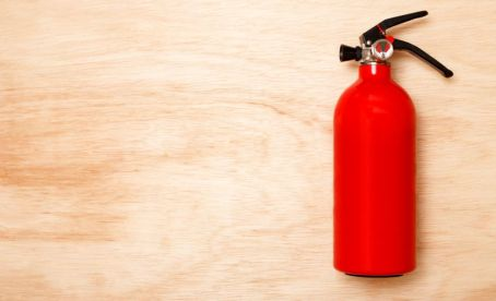 Fire extinguishers are eligible for the severe weather preparedness week sales tax break. (Alabama NewsCenter/file)