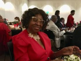 Carol Hilliard, the aunt of Birmingham Deputy Director of Intergovernmental Affairs Earl Hilliard Jr., loves to attend the gala. (Donna Cope/Alabama NewsCenter)