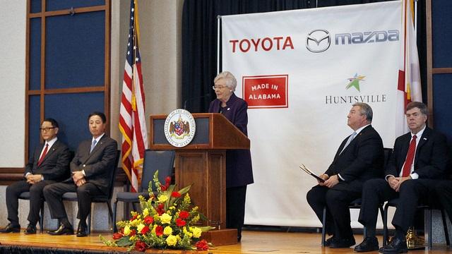 Mazda-Toyota $1.6B auto plant to create new supplier pull toward north Alabama