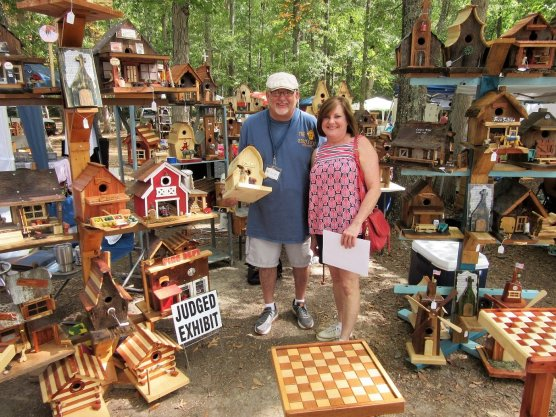 Fayette's smalltown charm makes it an ideal place for crafts festivals. (City of Fayette)