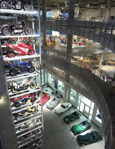 Barber Vintage Motorsports Museum now has even more space for its huge collection of bikes and cars. (Barber Motorsports Park and Museum)