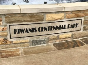 Kiwanis Centennial Park is just downhill from Vulcan on Red Mountain. (contributed)
