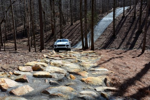 The rock crawl on Barber's obstacle course. (Barber Motorsports Park and Museum)