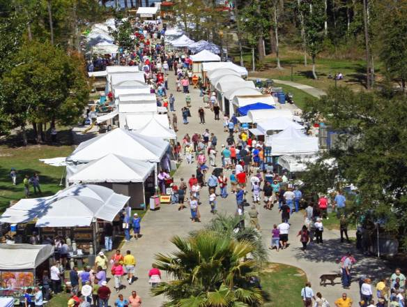 The festival will feature 100 booths of local and regional fine art, plus exciting acts on the performing arts and music stages. (Contributed)