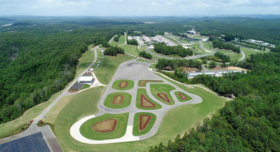 The Proving Ground track at Barber Motorsports Park. (Barber Motorsports Park and Museum)