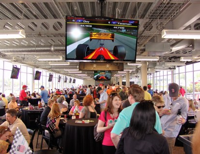 Hospitality at Barber Race Control. (Barber Motorsports Park and Museum)