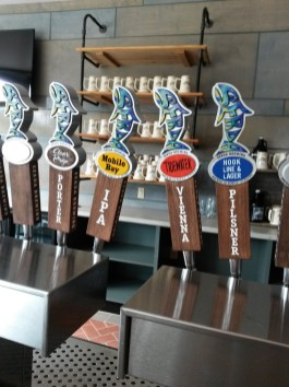 The taproom at Serda Brewing has its flagship beers along with experimental and seasonal offerings. (Serda Brewing)