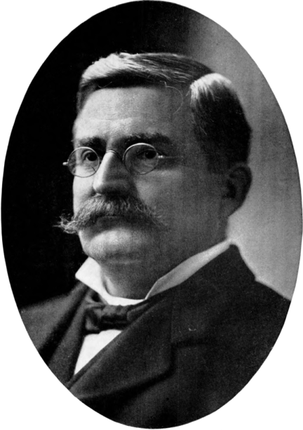 Photograph of Russell McWhortor Cunningham, featured in Notable Men of Alabama: Personal and Genealogical, 1904. (Joel Campell DuBose, Wikipedia)