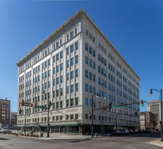 The Pizitz was transformed into a food hall, retail space and 143 apartments with amenities that include a rooftop pool and fitness center. (contributed)