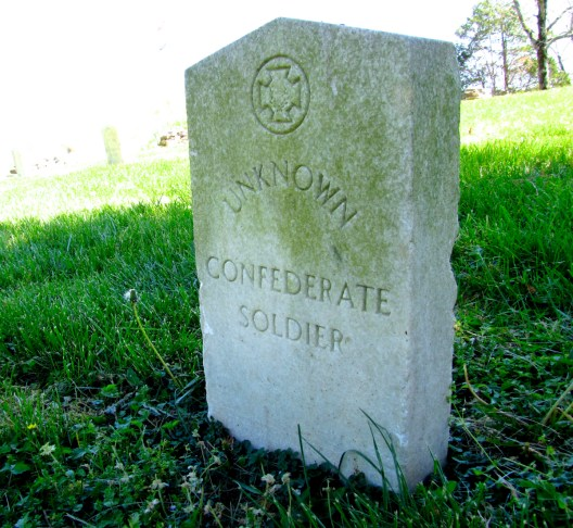Grave of an unknown Confederate soldier at the Beech Grove Confederate Cemetery in Beechgrove, Tennessee, 2016. (Brian Stansberry, Wikipedia)