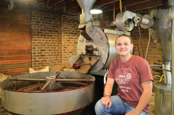 Leah Cleghorn is owner of Southern Girl Brewing Co. in Oxford. (Michael Tomberlin / Alabama NewsCenter)