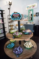 Fairhope Soap Co. sells bath bombs in its shop and wholesale to other retailers across the state. (Brittany Faush / Alabama NewsCenter)