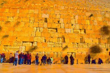 Karim Shamsi-Basha created art out of his photos from his visit to Israel. (Karim Shamsi-Basha / Alabama NewsCenter)
