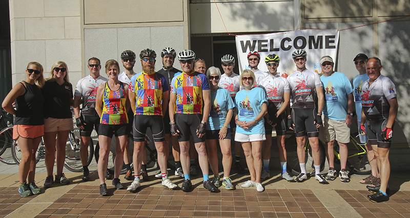 Alabama Power's Power Pedalers are sponsoring the third annual Dam Ride April 20-21 benefiting the National Multiple Sclerosis Society. (Meg McKinney)
