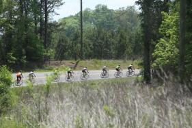 The Dam Ride raises money and awareness for the National Multiple Sclerosis Society as bicyclists ride from downtown Birmingham to Lay Dam. (Meg McKinney / Alabama NewsCenter)