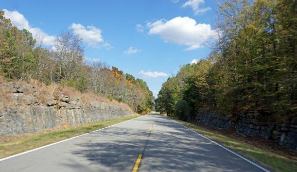 Natchez Trace Parkway stretches through three states, including Alabama. (Erin Harney / Alabama NewsCenter)