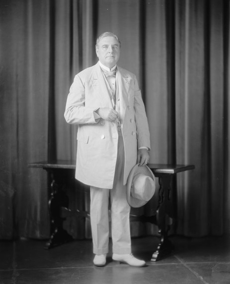 Portrait of J. Thomas Heflin, published between 1905-1945. (Harris & Ewing, Library of Congress, Prints and Photographs Division)